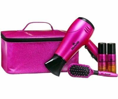 Brand New Mark Hill All that Glitters 2200w Hairdryer Hair Dryer Gift set Pink   eBay