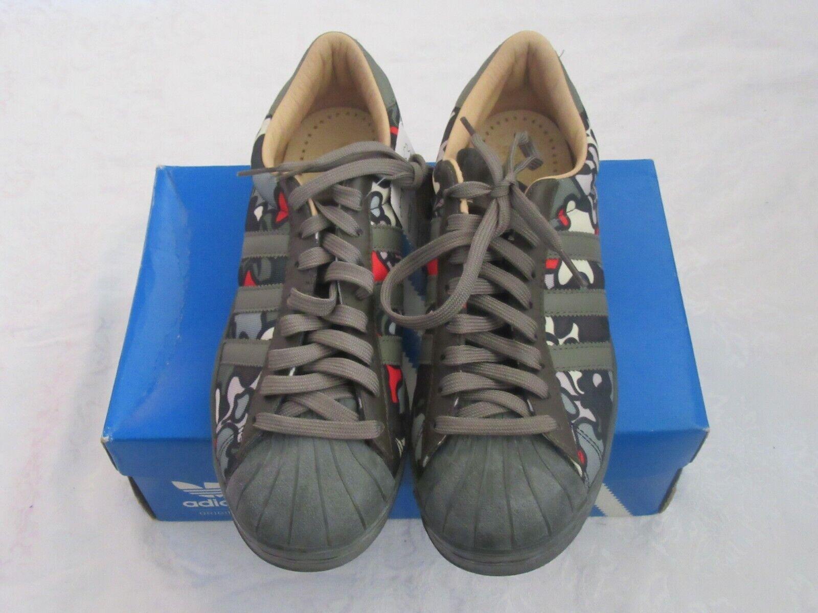 Adidas 659825 Superstar Vin Lux Originals Camo Bone Camouflage US Size 9 Sneaker