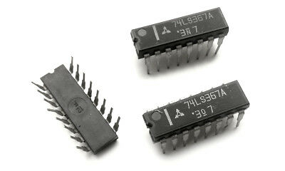 SN74LS367AN 2 pieces Hex Bus Drivers 3-State Outputs 74LS367 IC 74LS367A