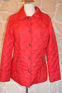 Rouge Neuf Doudoune À Blouson Taille Marque 40 Beaumont Étiqueté BHU4qw