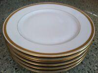 T & V Tressemanes & Vogt Limoges Pattern # 6001 Set Of 6 Plates 8 3/4