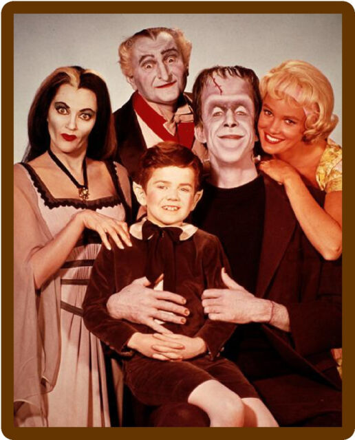 1960's The Munsters TV Show  Refrigerator / Tool Box Magnet