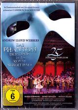 DVD THE PHANTOM OF THE OPERA Andrew Lloyd Webber 25 Aniversary Royal Albert Hall
