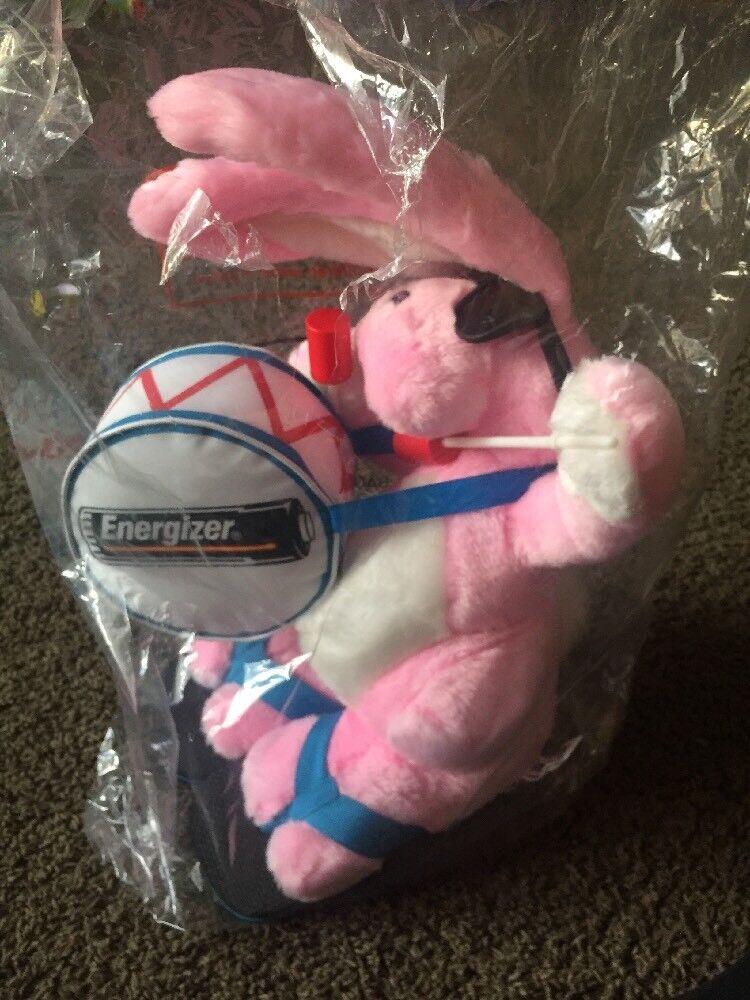 "Energizer Bunny Plush Battery Stuffed Toy BIG No Noise 23"" NEW"