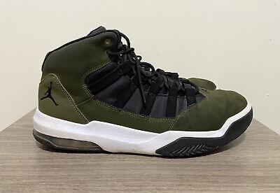 Nike Jordan Max Aura Oliva Lona/Negro