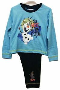 Disney Olaf /& Sven 100/% Cotton Pyjama Set