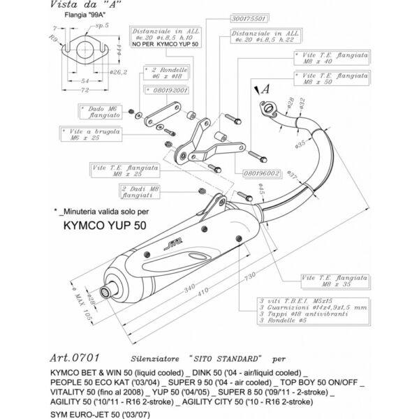 0701 Scarico Marmitta Omologata Sito Twin Chamber Kymco Vitality 50 2008 Voorzichtige Berekening En Strikte Budgettering