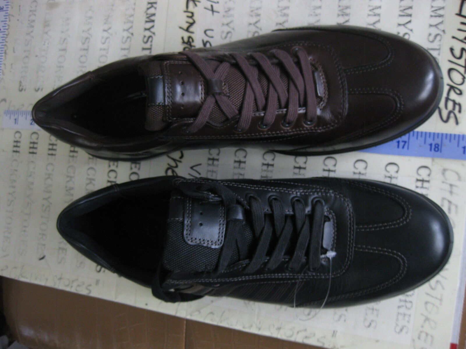 NEW  ECCO CHANDER 535174 CASUAL LACE-UP CASUAL 535174 DRESS SNEAKER LEATHER COMFORT SCARPE 2a6d75