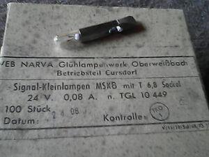 Ddr Stelltrafo Stecklampe Lampe Birne T6 8 24v Din Norm Steckbirne Trafo E Gerat Ebay