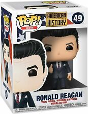 """Ronald Reagan #49 /""""MINT/"""" IN STOCK Funko Pop Ad Icons American History"""
