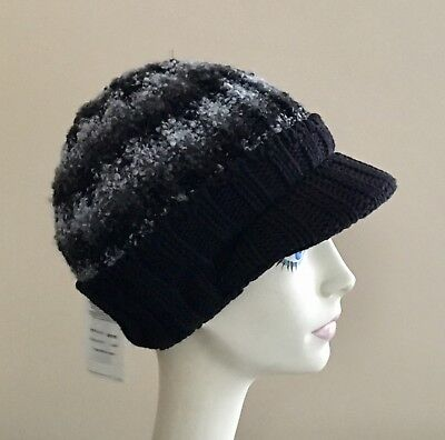Parkhurst Knit Hat WINTER Cap BLUE Acrylic and Cotton SOFT NWT