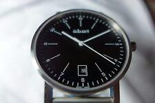 NIB A.B. Art Men Watch Model O104 with Sapphire Crystal, Swiss Made, MSRP $895