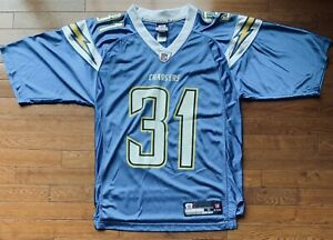 Details about Vintage Antonio Cromartie San Diego Chargers #31 Reebok NFL Football Jersey
