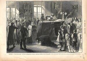 Russie Saint-Pétersbourg Funérailles du Métropolitain de Kiev GRAVURE PRINT 1876 - France - EBay Russia Saint Petersburg Funeral of the Metropolitan of Kiev Orthodoxe France ANTIQUE PRINTGRAVURE 100 % DÉPOQUE 1876 PORT GRATUIT EUROPE A PARTIR DE 4 OBJETS BUY 4 ITEMS AND EUROPE SHIPPING IS FREE Il s'agit d'un fragment de page originale  - France