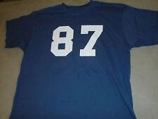 Patriots Rob Gronkowski GRONK #87 Short Sleeve T Shirt Size Mens Large FREESHIP