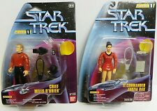 STAR TREK DS9 : LT. COMMANDER JADZIA DAX & CHIEF MILES O'BRIEN - CLASSIC UNIFORM