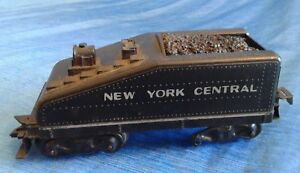 Vintage-Louis-Marx-New-York-Central-Tender-Toy-Train-Black-Parts-amp-Repair