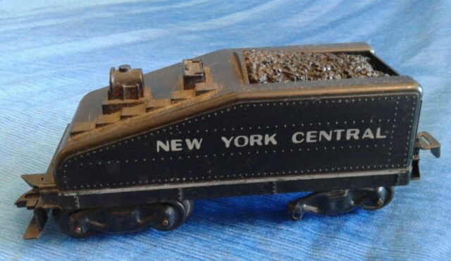 Vintage Louis MARX New York Central Tender Toy Train Black Parts & Repair