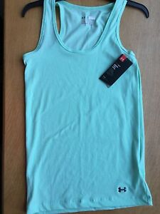 a0929ce258e3a Under Armour Mint Green North Star Fitted Tank Top XS Womens  25 ...