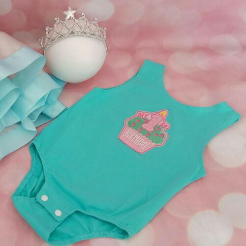 Baby Girl First 1st Birthday Outfit cake Smash Photo Shoot Tutu Party Dress