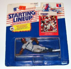 Starting Lineup Gary Redus Offer MLB Baseball Figure Card MOC KENNER 1988