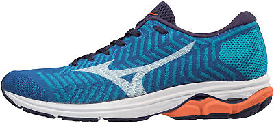 Mizuno Mens Waveknit R2 Running Shoes Trainers Sneakers Black Sports Breathable