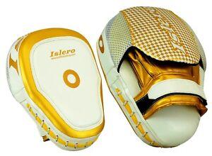 ISLERO-Kick-Boxing-MMA-Focus-Pads-Muay-Thai-Martial-Arts-Training-Pad-UFC-Bags