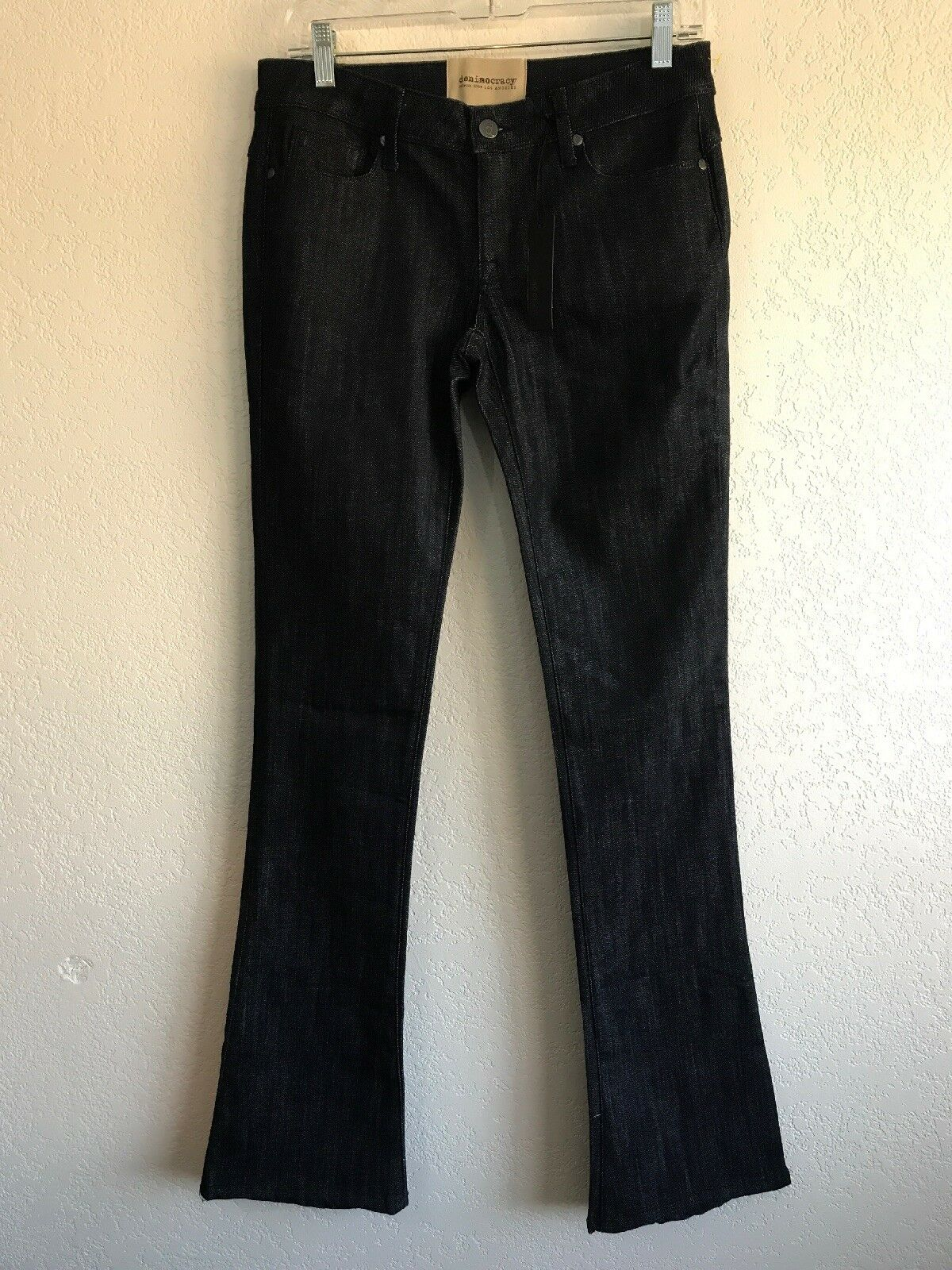 NWT NEW Denimocracy Womens Skinny Bootcut Julia Size 28