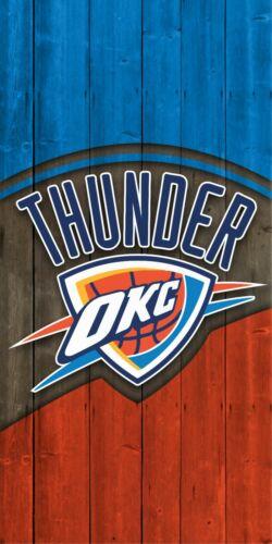 Oklahoma City Thunders Cornhole Wrap Decal Sticker Surface Texture Single M2292