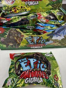 Bustine Epic Animals Della Giungla Da Edicola!! De Agostini! NOVITÀ!