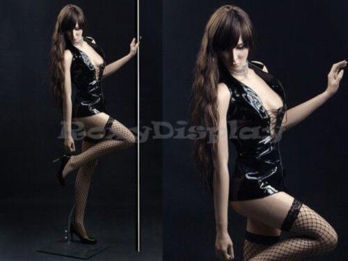 Female Fiberglass Skin Realistic Mannequin Display Dress Form #ZARA3-MZ