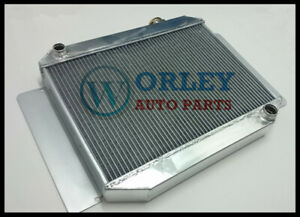 Aluminum-Radiator-HQ-HJ-HX-HZ-3-Rows-1971-1980-6-cylinder-202-MANUAL-FOR-HOLDEN