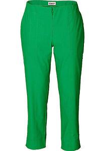 Sheego Femmes Casual pantalon knöchellang stretch Chino Kaki 477332