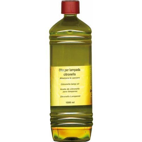 Olio Lampante alla Citronella per lampade o bambù confezione 1 Litro