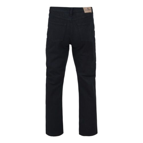 40 72 Fit Jeans gamba Big Kam Nero Regular 34 27 pollici vita pollici qwYxOS4