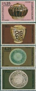 Thailand-1982-SG1112-1115-International-Correspondence-Week-Pottery-set-MNH