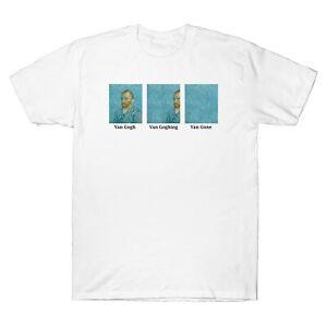 Details zu Van Gogh Van Goghing Van Gone Funny Men's Short Sleeve T shirt Adult Tee Cotton
