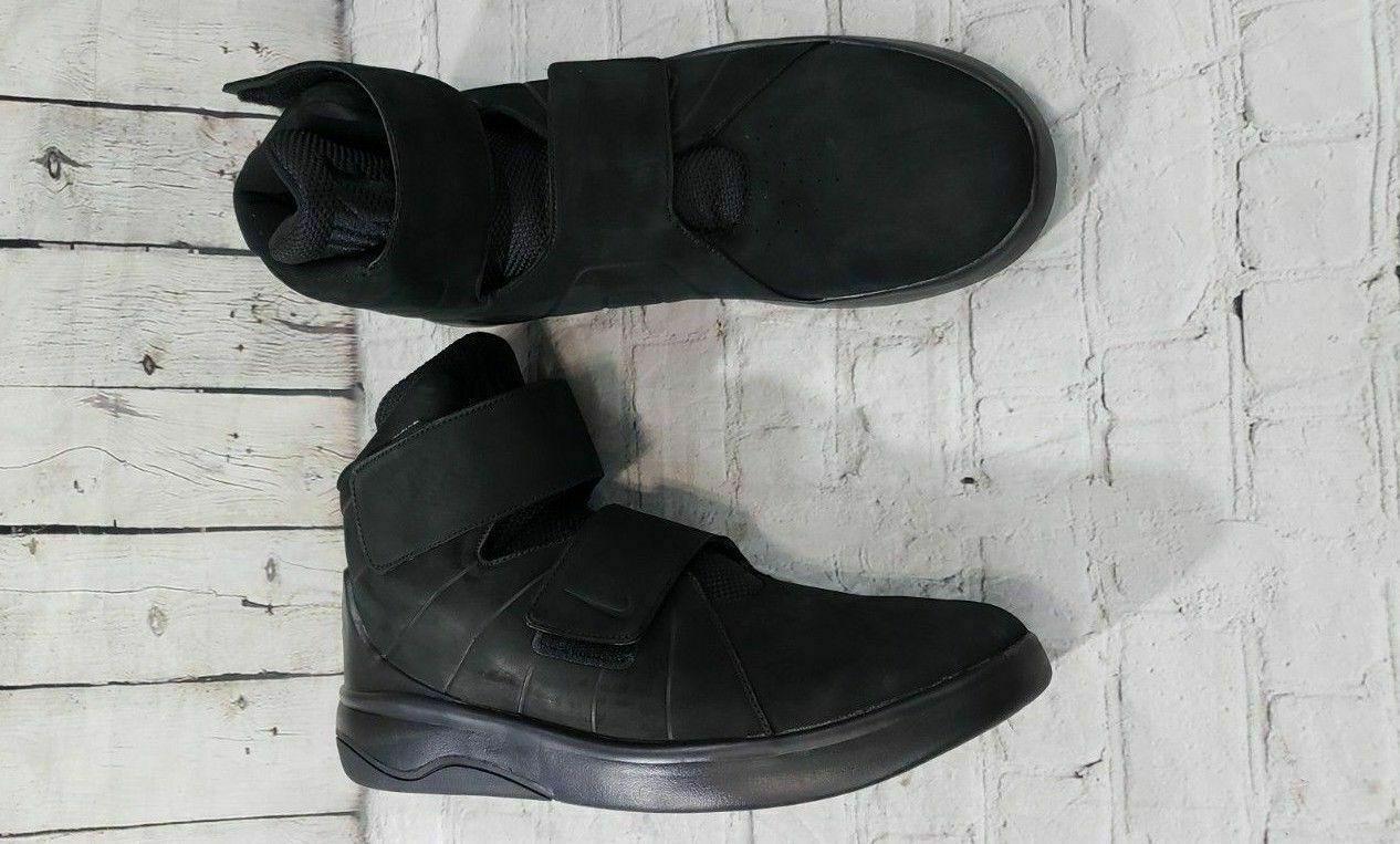 NEW Nike Marxman Prm Premium Black Athletic shoes 832766-002 MEN'S SZ 9.5