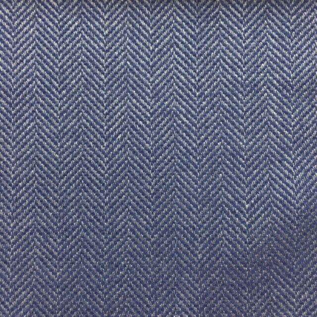Designtex West Elm Upholstery Fabric 3741 402 Tiny Herringbone Blue By The Yard