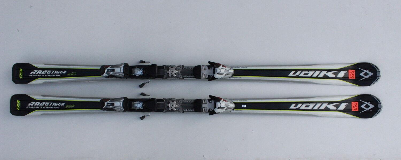 VOLKL RACETIGER SLALOM CARVER 168 CM SKIS SKI + MARKER MOTION  N550