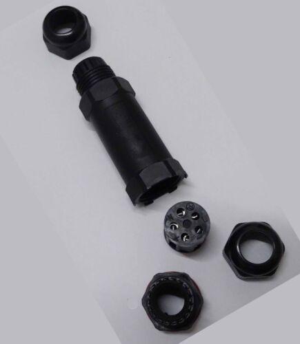 KABELVERBINDER WASSERDICHT OUTDOOR 5-POLIG IP68 MUFFE 450V