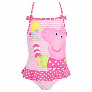 Peppa Pig Swimsuit Girls Peppa Pig Swimming Costume Peppa Pig
