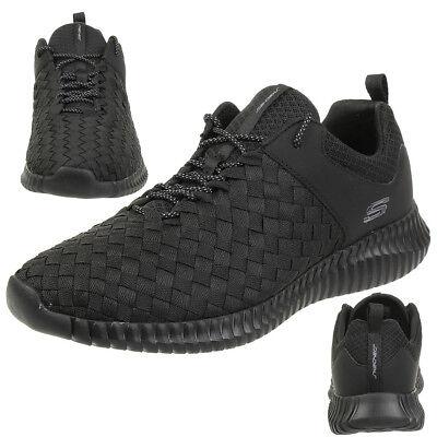 Skechers ELITE FLEX Belser Uomo Sneaker Scarpe Fitness BBK | eBay