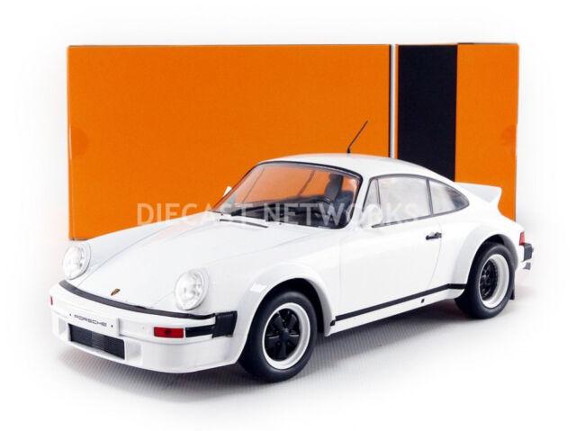 1982 Porsche 911 Race Version Plain White 1 18 Scale Model By Ixo Ebay