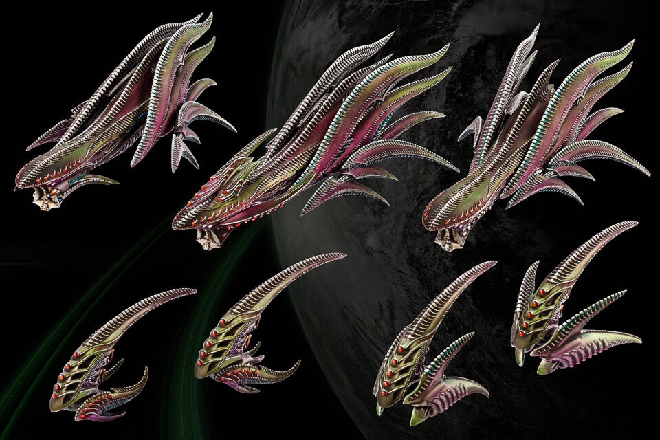 Hawk wargames dropfleet commander bnib geißel starter flotte hdf-32001
