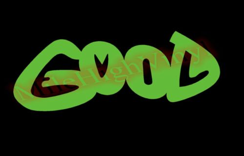 Good and Evil Visual Effect Illusion Vinyl Decal Window Glass Sticker