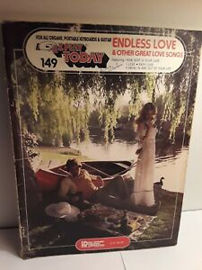 EZ-PLAY-TODAY-149-Endless-Love-amp-other-great-songs-SHEET-MUSIC-BOOK-orgue
