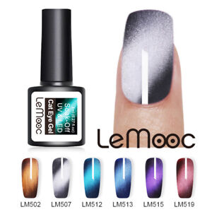 LEMOOC-8ml-3D-Cat-Eye-Wide-Gellack-Magnetic-Soak-Off-Nagel-Kunst-UV-Gel-Varnish