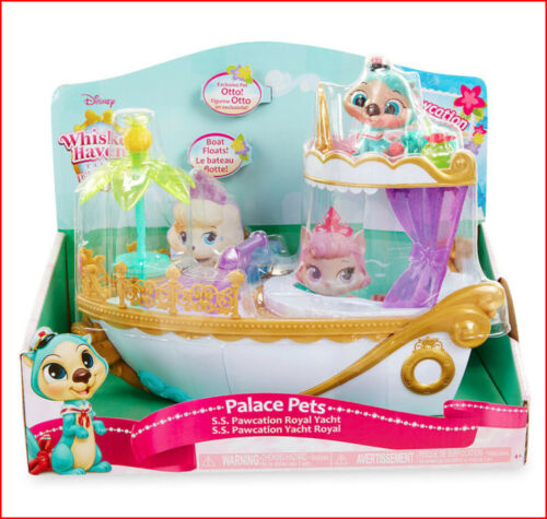 Palace Pets SS Pawcation ROYAL YACHT Boat Set EXCLUSIVE Ariels Otter ❤️VHTF❤️