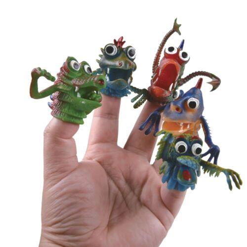 Doigt Monstres Fright Marionnettes Jouet Sac Fête Enfants Enfant/'s Stocking Remplissage Cadeau